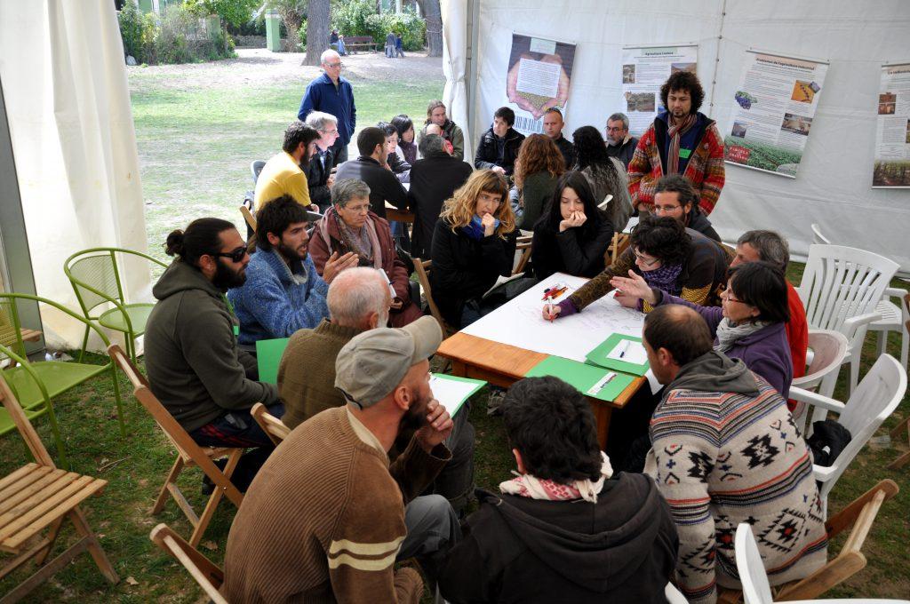 Imatge de la formació en resolució de conflictes