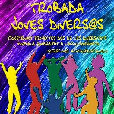 Cartell de la Trobada Joves Divers@s
