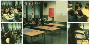Moment d'un dels taller de formació i acompanyament en coeducació amb les famílies