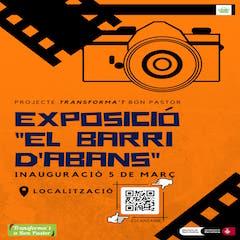 Cartell de la exposició El bari d'abans que s'inagurarà el proper dia 5 de març