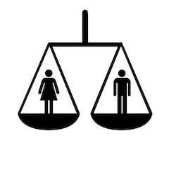 plan de igualdad de oportunidades simbolizado con la balanza