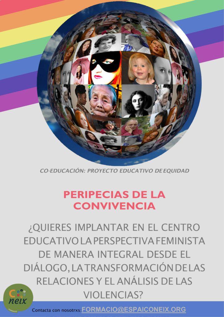 Las peripecias de la convivencia es un proyecto de coeducación integral de Espai Coneix que ofrecemos a centros educativos.