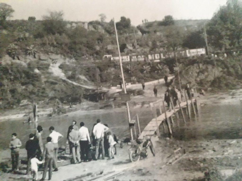 Imatge de les antigas passeres